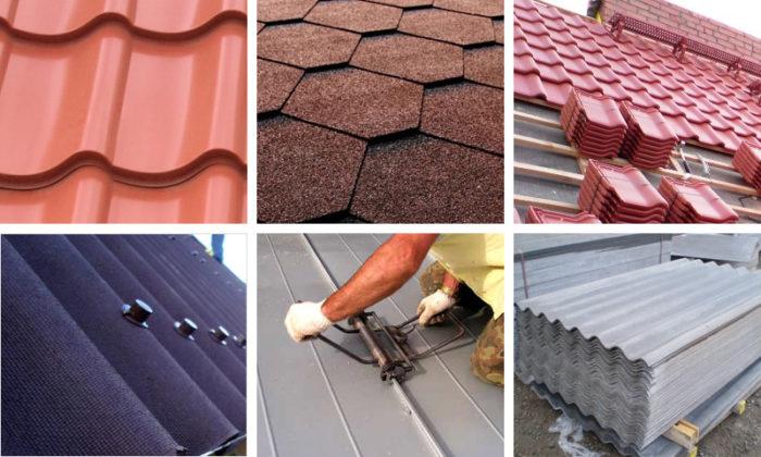Материалы для покрытия крыши