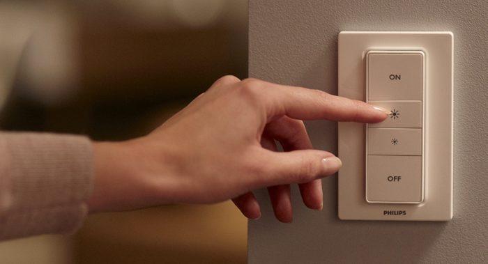 Диммеры позволяют регулировать яркость освещения в помещении