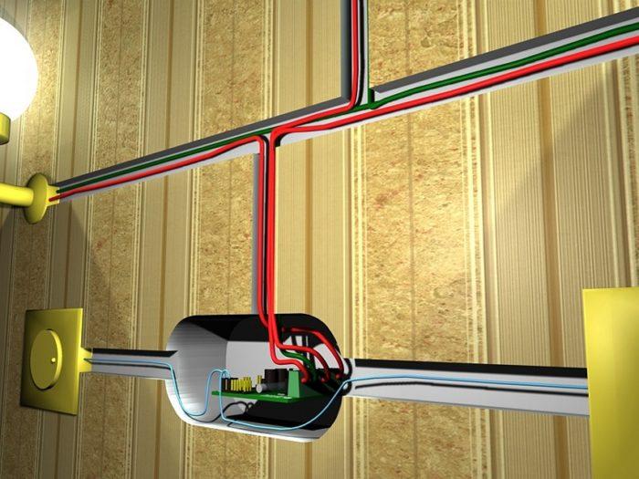 Принцип подключения светорегулятора для светодиодных ламп