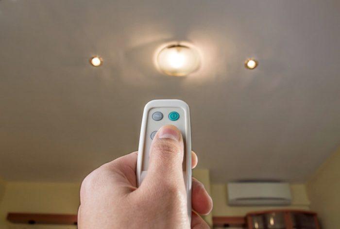 Дистанционный тип светорегулятора является самым удобным