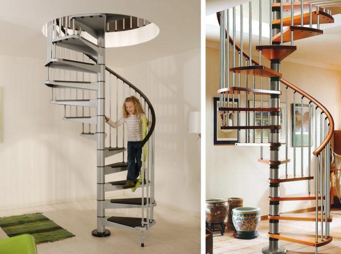 Винтовые лестницы эконом-класса