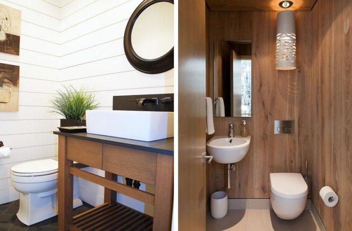 Пластиковые панели — практичное решение для оформления туалета