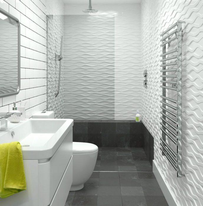 Объединив ванную и туалет, можно получить довольно просторное помещение