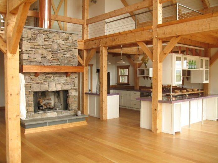 Внутренняя отделка деревянного каркасного дома
