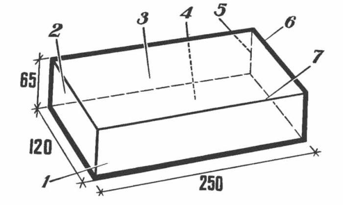 Размеры стандартного силикатного кирпича и названия его сторон
