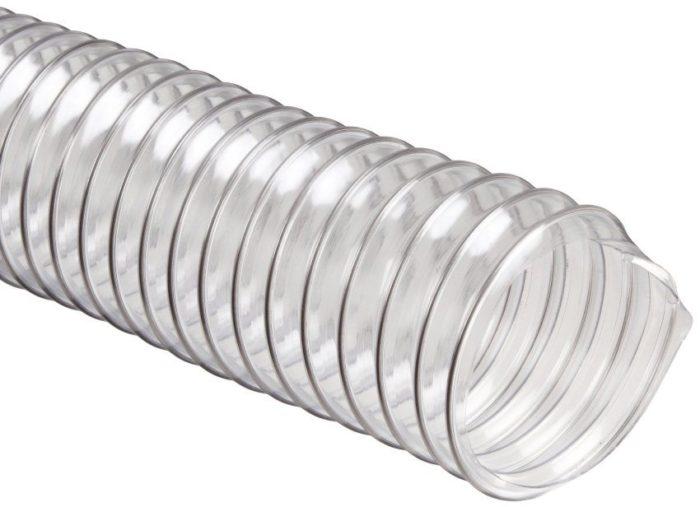 Пластиковая гофрированная вентиляционная труба