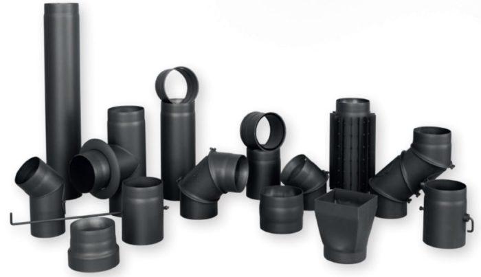 Вентиляционные трубы и соединительные элементы из черной стали