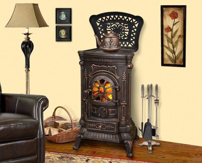 Чтобы получать максимальную теплоотдачу, используйте сухие дрова