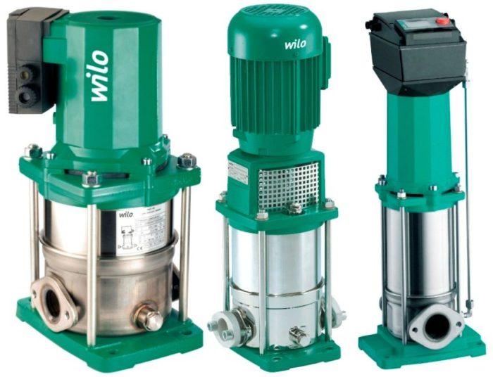 Центробежные насосы высокого давления серии Multivert от производителя Wilo