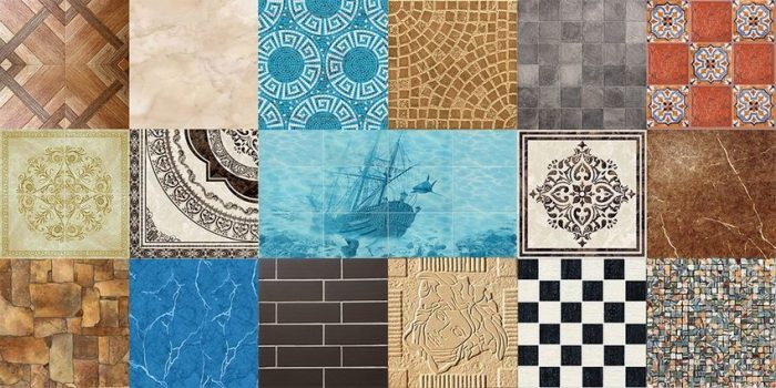 Разнообразие форм, узоров и различные размеры плитки позволят создать неповторимый интерьер в помещении