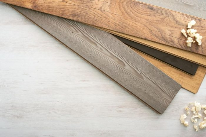 Оттенок и фактуру ламината можно подобрать под любой интерьер