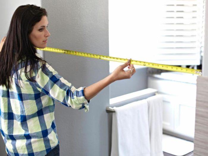 Шаг 1: снятие замеров дверного проема