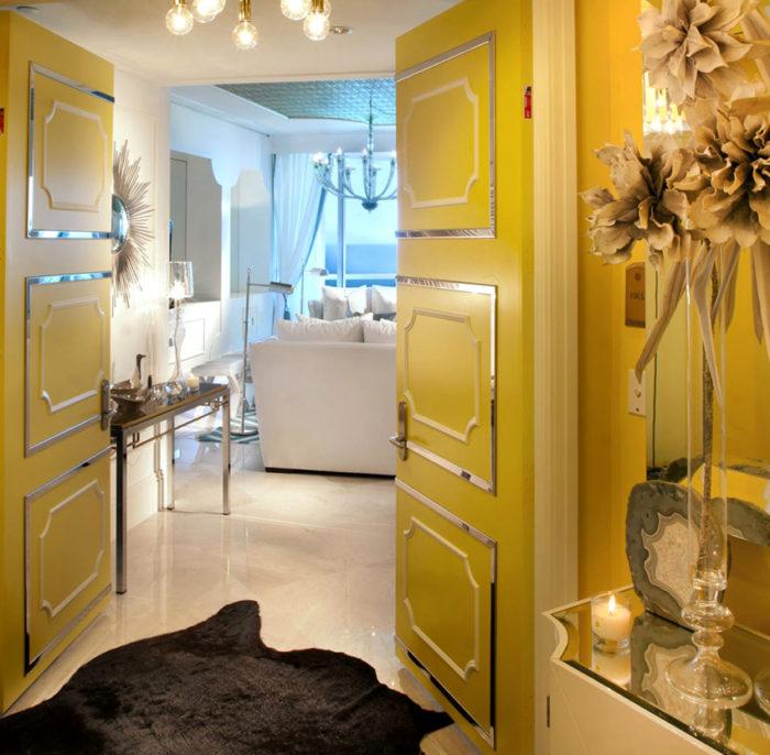 Распашные межкомнатные двери – самые распространенные конструкции