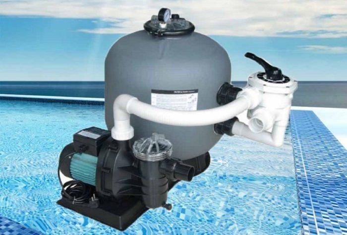 Песочный фильтр для очищения воды в бассейне является одним из бюджетных вариантов