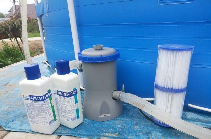 Устанавливать фильтр для бассейна нужно соблюдая определенные правила безопасности