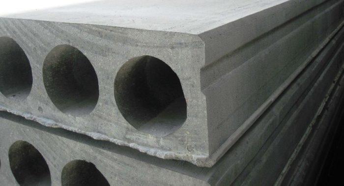 Плиты перекрытия серийных размеров, которые должны учитываться при проектировании здания